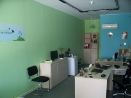 Lingua Greca office inside