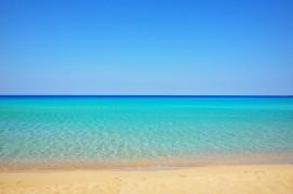 Falassarna beach in Crete, Greece