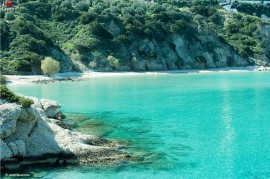 Voulisma beach, Agios Nikolaos, Crete, Greece