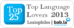 Top 100 Language Lovers 2013
