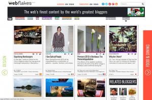 Webflakes screenshot