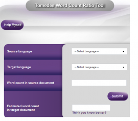 Tomedes Word Count Ratio Tool