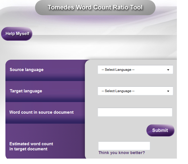New (& free) word count ratio tool available