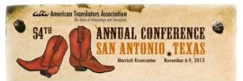 ATA's 54th Annual Conference in San Antonio, Texas
