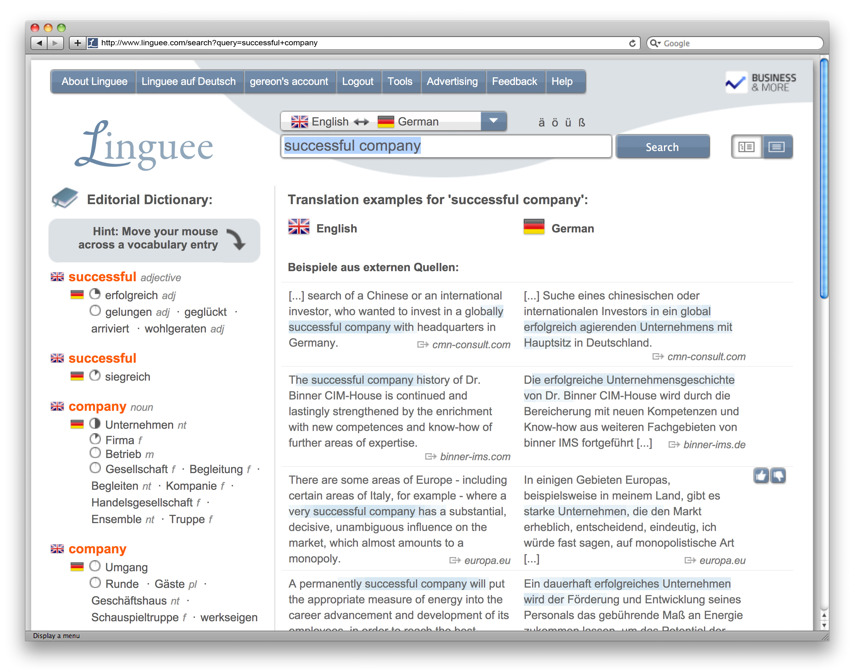 Linguee.com Reaches 2 Billion Searches and Adds New Languages