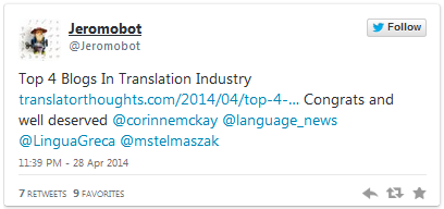 Top translation blog, English-Greek translations