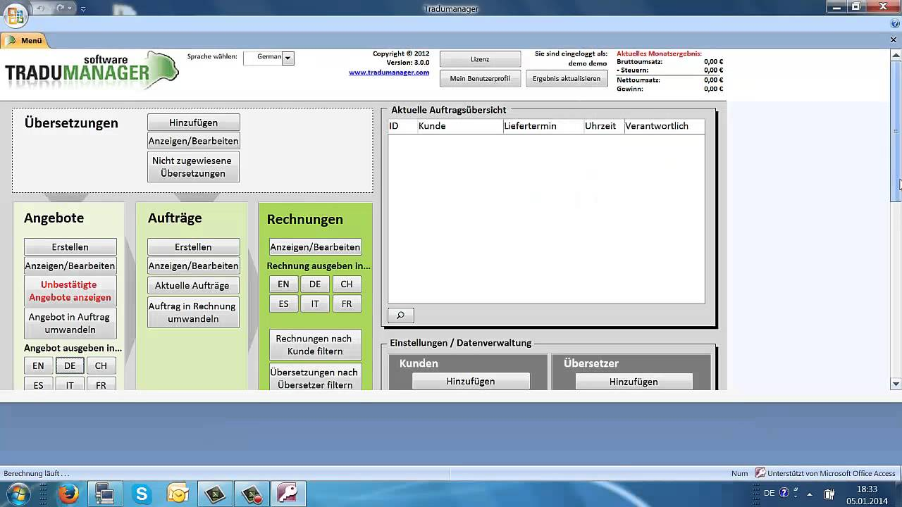 Review of Tradumanager (project management software for translators)
