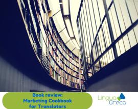 Book review: Marketing Cookbook for Translators