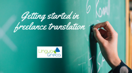Getting started in freelance translation