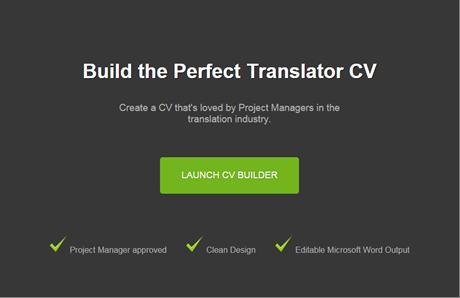 TranslateMedia translator cv tool