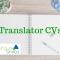 Translator CVs