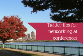 Twitter tips for networking at conferences
