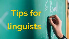 Advice for Translators and Interpreters