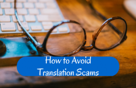 How to Avoid Translation Scams