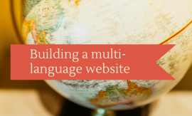 Building a multi-language website